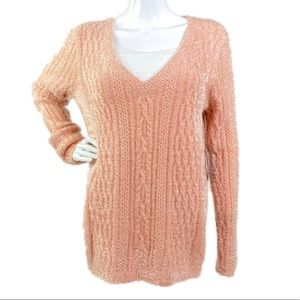 Chelsea28 Cozy cable knit Sweater